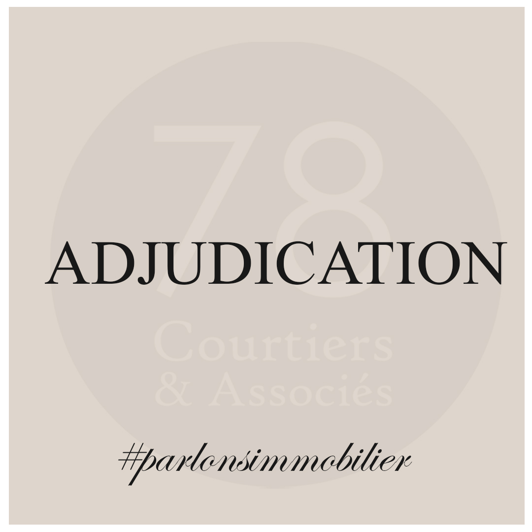 Définition adjudication