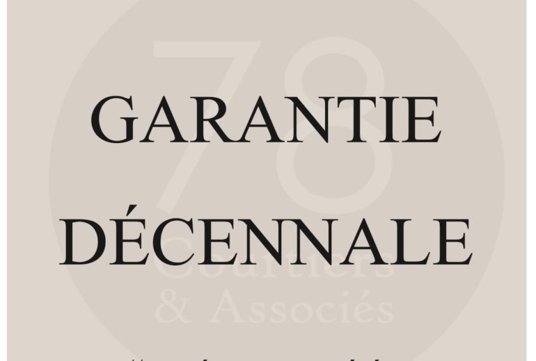 Définition garantie décennale